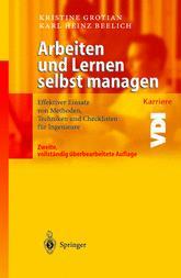 Arbeiten und Lernen selbst managen im Springer Verlag